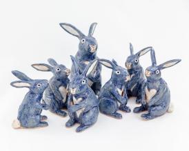 Blue Bunny Maquette