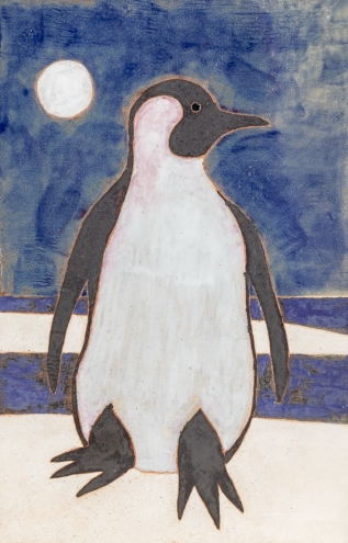 Penguin Tile Left